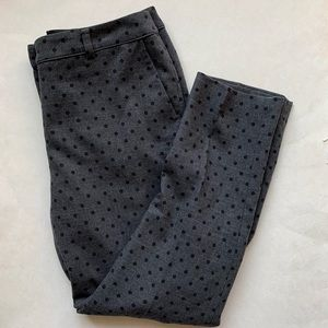Boden bistro crop wool polka dot pants